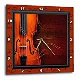 3dRose LLC Violin or Fiddle 10 by 10-Inch Wall Clock Review