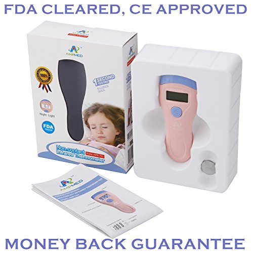 Amplim FDA, CE Approved Infrared Non-Contact Medical Forehead Thermometer