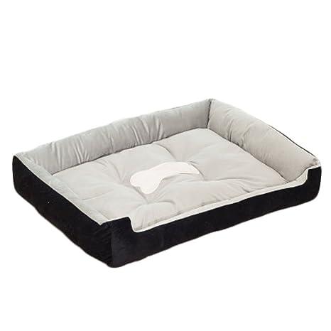 Amazon.com: Sandalas perro cama agradable al tacto suave y ...
