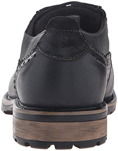 Steve Madden Mens Spanner Oxford Shoe Nero
