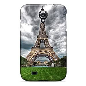 Galaxy S4 Case Cover - Slim Fit Tpu Protector Shock Absorbent Case (paris I Love You)