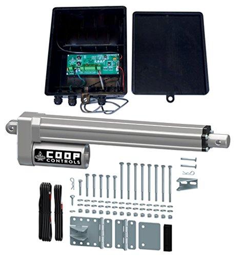 Automatic Coop Door Opener Kit (CKSP-Standard Kit, No Battery) (Best Chicken Coop Kit)