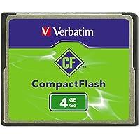 Verbatim 4GB CompactFlash Memory Card 95188