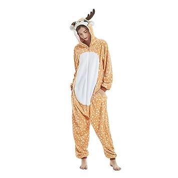 Kenmont Unisexo Adulto Unicornio Cartoon Animal Novedad Navidad ...
