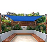 San Diego Sail Shades 20' x 12' Rectangle (Blue) - Commercial Grade Shade Sail