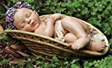 Josephs Studio Garden Figure, 64422, Baby with Floral Crown Lying in a Basket, 11 inches wide Review