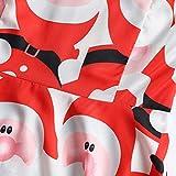 Fudule Womens Christmas Dress Vintage Halter Santa