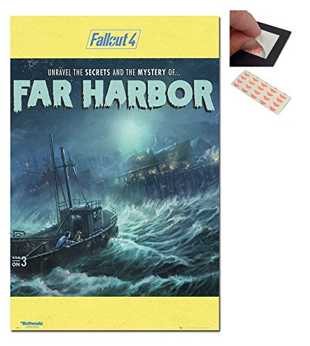 Bundle - 2 Items - Fallout 4 The Mystery Of Far Harbor Poste