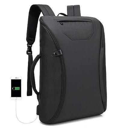 4bd407c8c0 Borsa Monospalla Uomo Impermeabile Viaggio Zaino USB Ricarica Casual  Computer Bag: Amazon.it: Sport e tempo libero