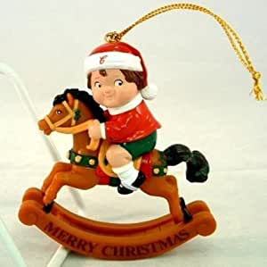 Campbell Soup Christmas Tree Hanging Ornament Boy on ...