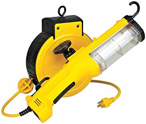 LumaPro 5NRX7 Hand Lamp Cord Reel, 26W, 20Ft. Cord ()