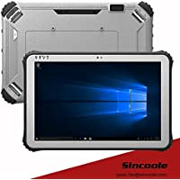 12 inch windows barcode rugged tablet 4G 128G industrial panel pc