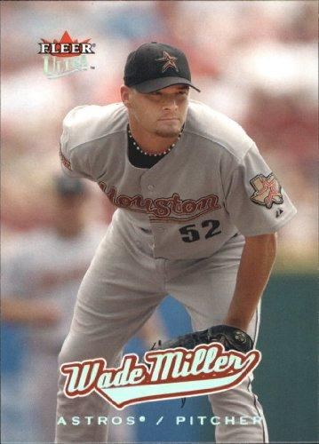2005 Fleer Ultra Baseball Card #67 Wade Miller