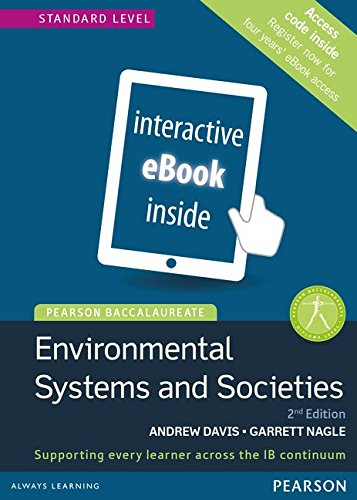 Environmental Systems and Societies, Standard Level, for the IB Diploma (eText) (Access Code Card) (Pearson Baccalaureate)