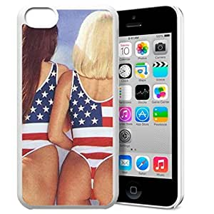 MEIMEIAmerica Flag Design Pattern HD Durable Hard Plastic Case Cover for iphone 6 4.7 inchMEIMEI