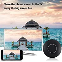 WIFI Display Dongle, Lovingvs WiFi Wireless HDMI 1080P Mini Display Receiver with AV Output and Marquee Light HDMI TV Miracast DLNA Airplay for IOS/Android/Windows/Mac