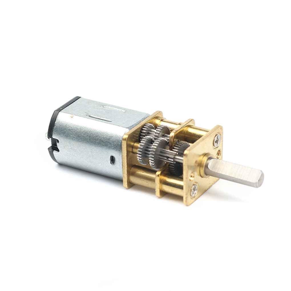 10rpm / 15RPM / 20RPM / 30rpm 1: 1000 DC 6V vitesse du moteur électrique à couple élevé Boîte de vitesses Moteur N20 Métal Décélération Moteur