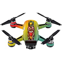 Skin For DJI Spark Mini – Tiki Man | MightySkins Protective, Durable, and Unique Vinyl Decal wrap cover | Easy To Apply, Remove, and Change Styles | Made in the USA