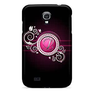 SJuxFdu1783rkByC Case Cover, Fashionable Galaxy S4 Case - Letter L 02