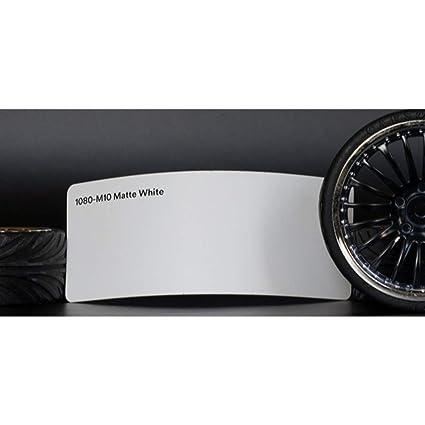 3M 1080 M10 MATTE WHITE 5ft x 1ft 5 Sq//ft Car Wrap Vinyl Film