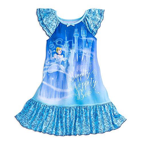 Girls Nightshirt (Disney Cinderella Nightshirt for Girls Size 5/6)