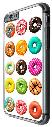 1513 - Cool Fun Trendy Cute donuts colourful sweets candy cartoon Kwaai collage Design iphone 6 6S 4.7'' Coque Fashion Trend Case Coque Protection Cover plastique et métal - Clear