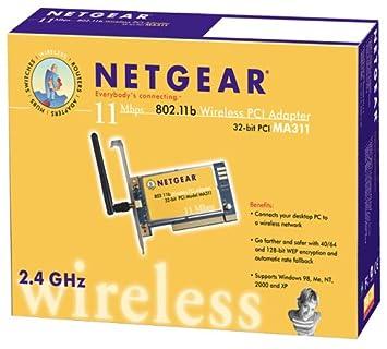NETGEAR MA311 WIRELESS ADAPTER DRIVER PC
