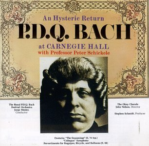An Hysteric Bargain sale Return: P.D.Q. Free shipping on posting reviews Bach at Carnegie Hall