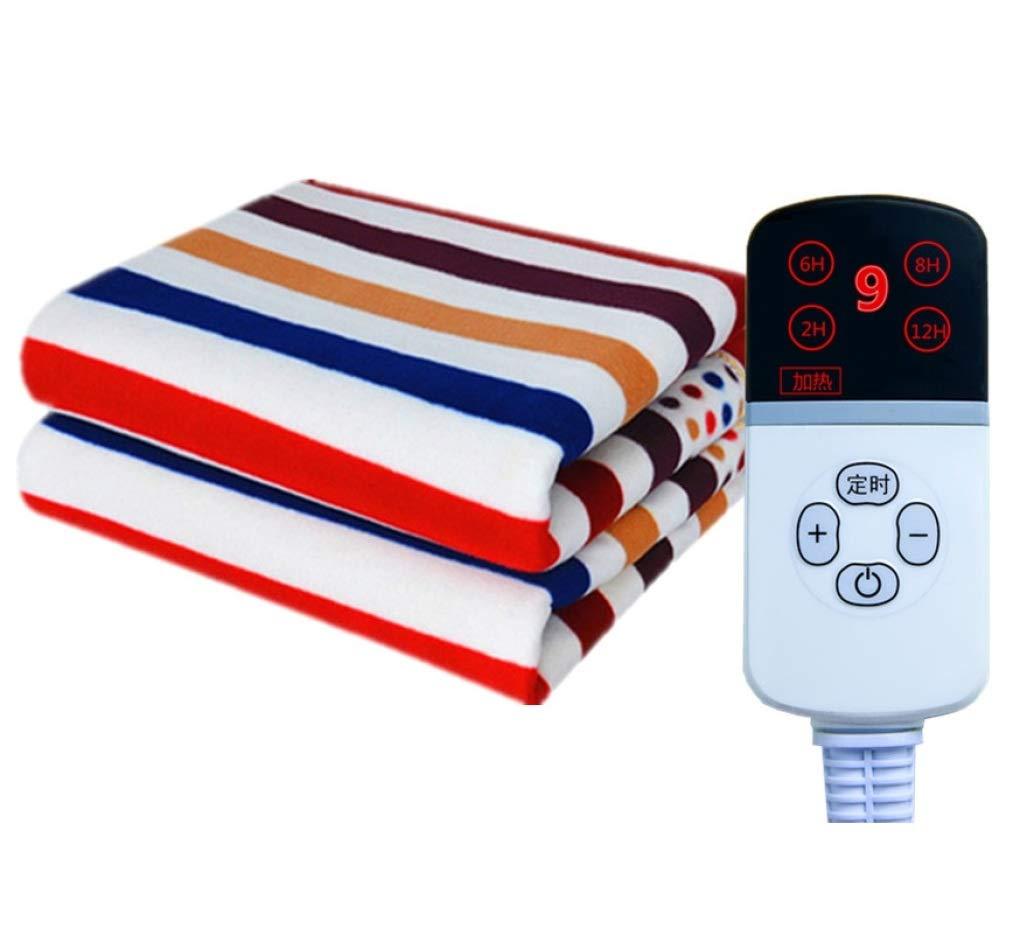 HUYYA calienta Manta electrica, calienta Camas Seguro y cálido Mantas electricas para Camas -Premium Comfort Manta eléctrica Matrimonio,Camel_180x90cm: ...
