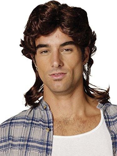 Brown Mullet Wig (Buy Mullet Wig)