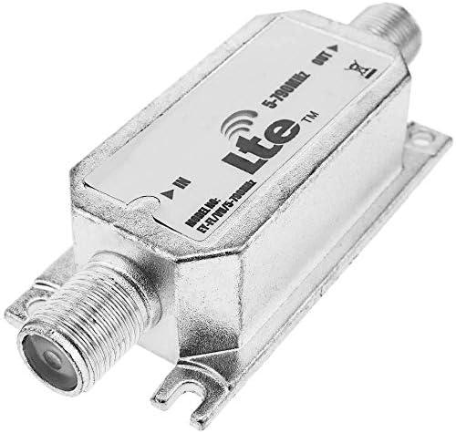 BeMatik - Filtro de Antena TV DVBT TDT para telefonía móvil LTE gsm 4G 5-790 MHz