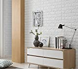 Arthome 3D Faux Brick Wall Panels 20Pack Cover 113
