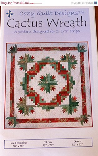 Pattern Cozy Quilt Designs (Cactus Wreath By Cozy Quilt Designs)