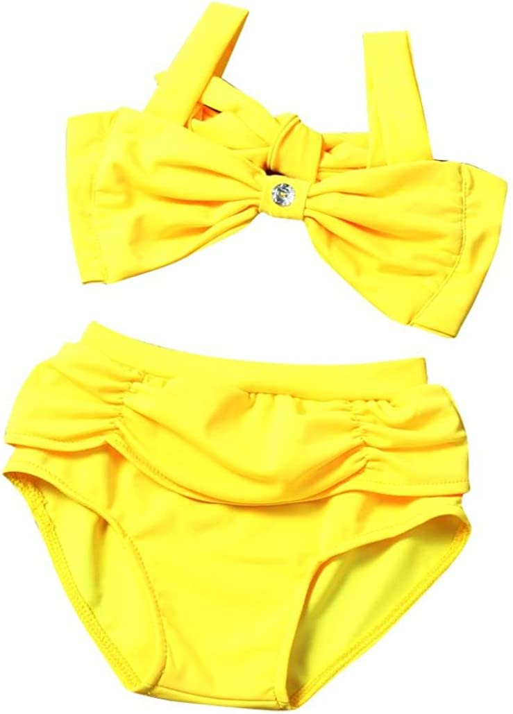 FORESTIME/_baby clothes girl Baby Swimsuit FORESTIME Summer Kids Girls Tow Piece Swimwear Fashion Cute Suit Bikini Set