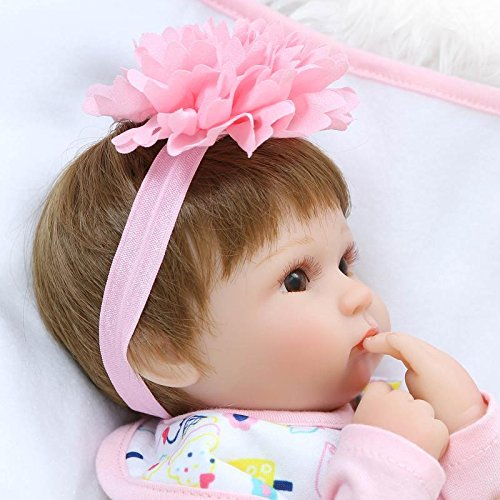 Pinky Reborn 17 Quot Soft Vinyl Silicone Real Life Like Reborn