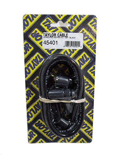 Taylor Cable 45401 Black 8mm Spiro-Pro Spiro-Wound Core Spark Plug Repair Kit