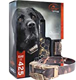 Bundle of 2 items - SportDog - SD-425 - SDR-AC - Two Dog Camo WetlandHunter for Large or Stubborn Dog Waterproof Shock Training Collar