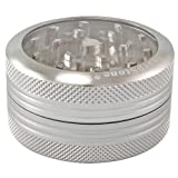 Sharpstone® 2.2 Easy Clean Self Cleaning 2pc Grinder - Silver by Sharpstone