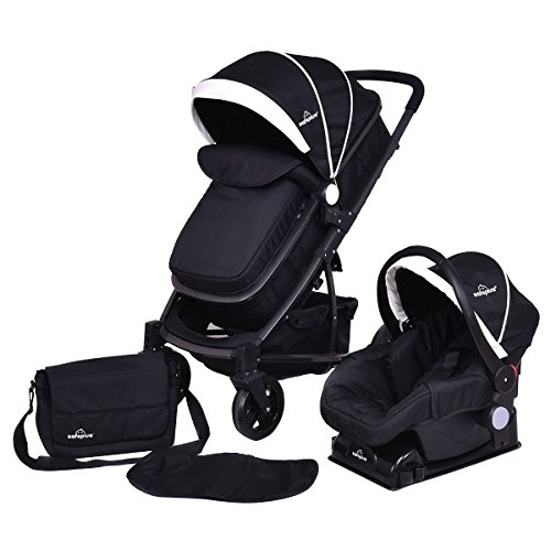 3 In 1 Car Seat And Stroller - 8