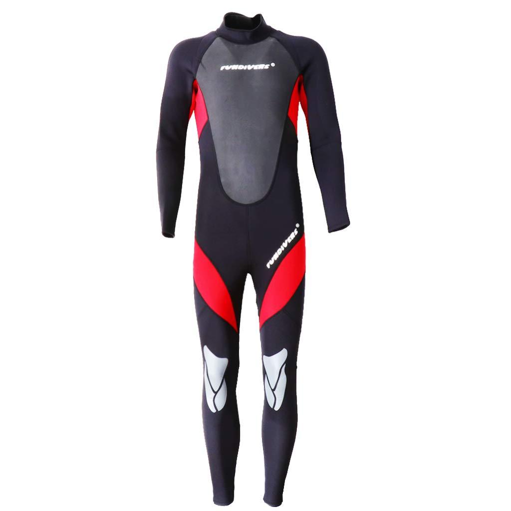 B Baosity Herren 3mm lang Neoprenanzug Tauchanzug Surfanzug Surfanzug Surfanzug One Piece UV-Schutz Badeanzug B07PKBG64G Neoprenanzüge Ausgezeichnete Funktion b9c9c1