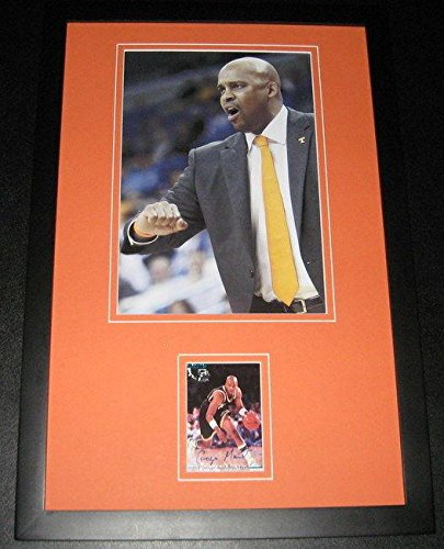 Cuonzo Martin Signed Framed Rookie Card & Photo Display Classic Tennessee - Basketball Slabbed Autographed Rookie Cards