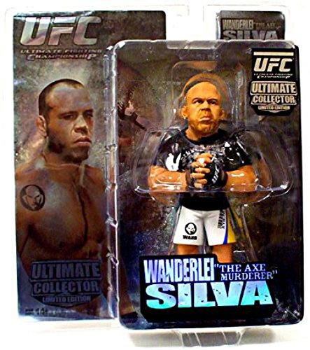(Round 5 UFC Ultimate Collector Series 3 LIMITED EDITION Action Figure Wanderlei The Axe Murderer Silva)