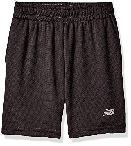 New Balance Big Boys' Basic Athletic Short, Black, 18-20