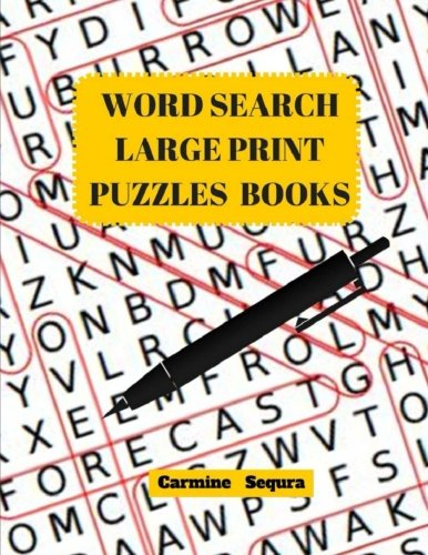 Word Search Large Print Puzzles Books: Word Search 50 Puzzles Large Print pdf