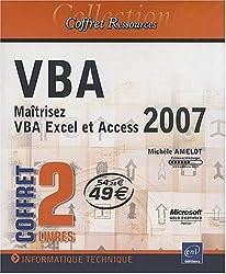 VBA - coffret de 2 livres : Maîtrisez VBA Excel et Access 2007