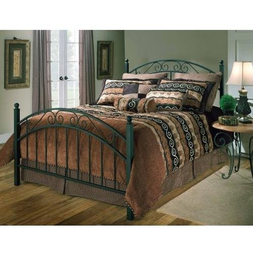 Hillsdale Furniture 1140BF Willow Bed Set, Full, Textured Black (Bed Storage Platform Willow)