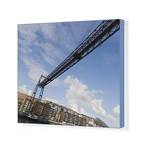 20x16 Canvas Print of tourism transportation bridge (13425647) by Media Storehouse
