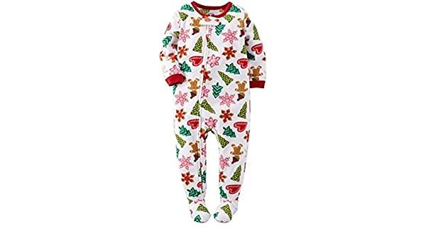 2d03a5b4f Amazon.com  CARTER S Girl s Size 3T Christmas Gingerbread Cookies ...