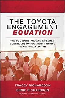 Buy the lean strategy using lean to create competitive advantage the toyota engagement equation how to understand and implement continuous improvement thinking in any organization fandeluxe Gallery