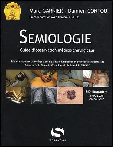 livre de semiologie chirurgicale
